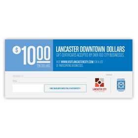 10 Downtown Dollars