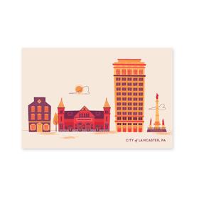 Central Market Postcard