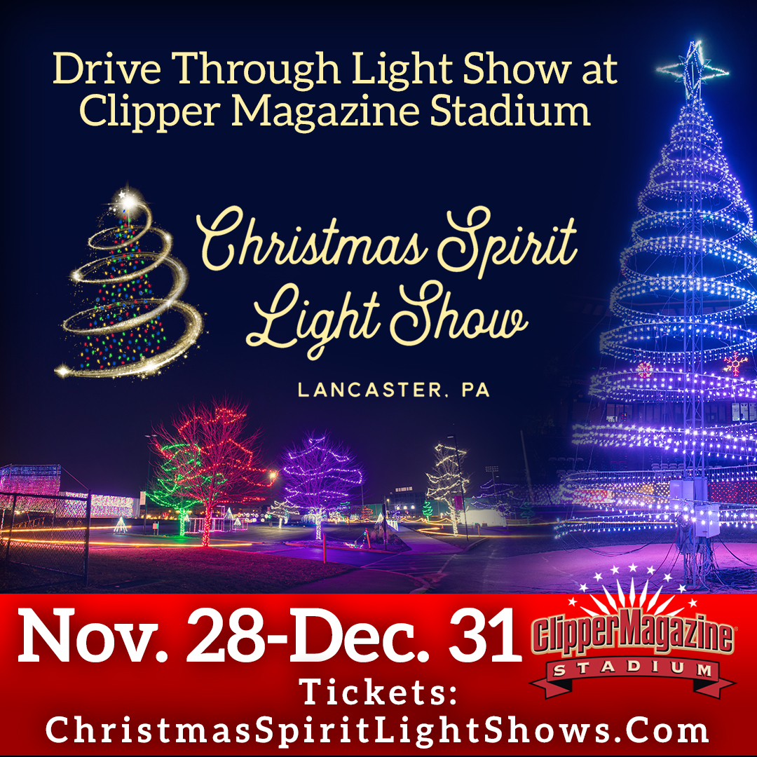 One Of A Kind Christmas Show 2020 Christmas Spirit Light Show   Visit Lancaster City