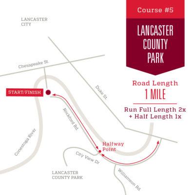 Course 5: Lancaster County Park